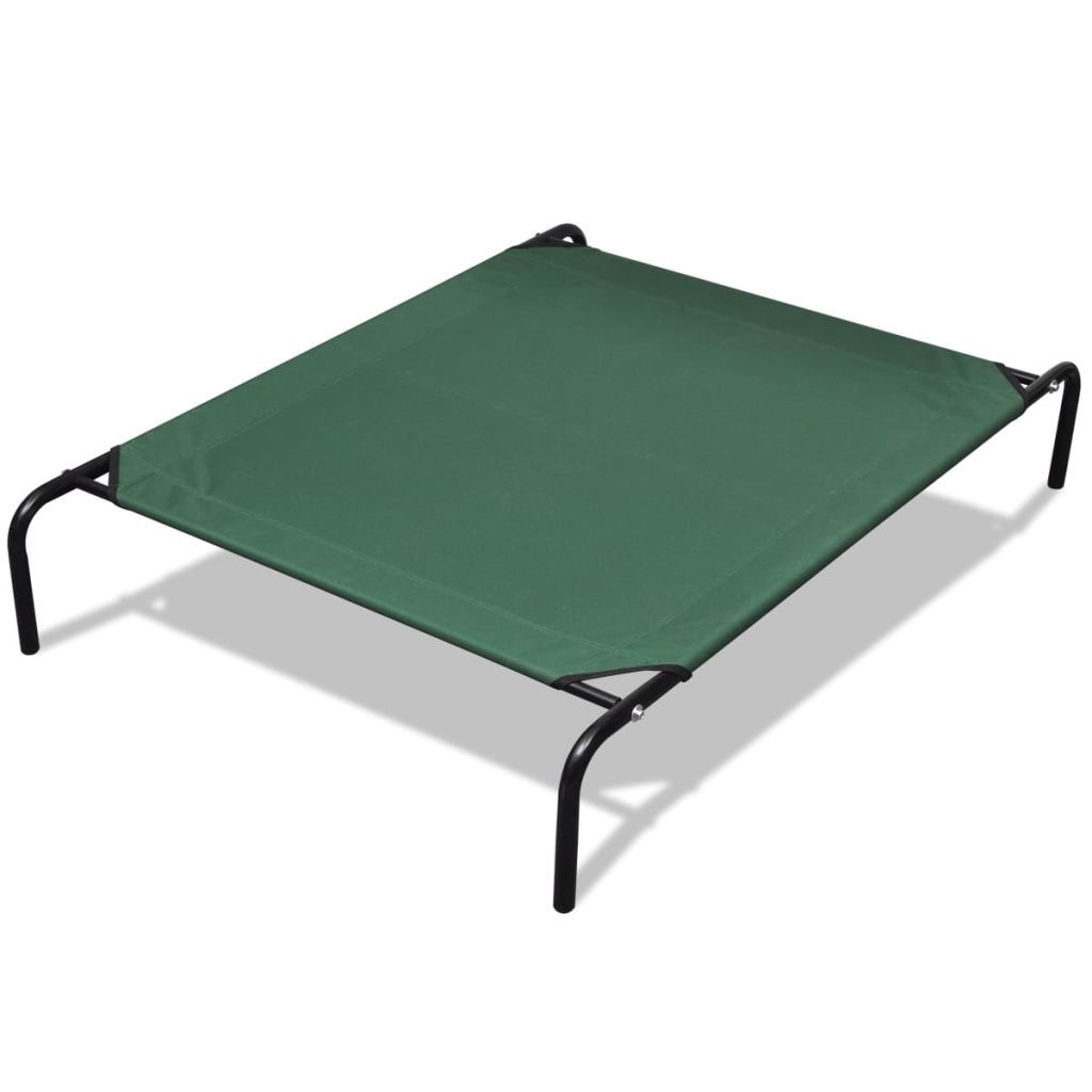 Elevated Pet Bed with Steel Frame 110 x 80 cm Kings Warehouse