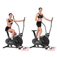 Everfit 4in1 Elliptical Cross Trainer Exercise Bike Bicycle Home Gym Fitness Machine Running Walking Kings Warehouse