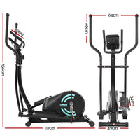 Everfit Exercise Bike Elliptical Cross Trainer Bicycle Home Gym Fitness Machine New Arrivals Kings Warehouse