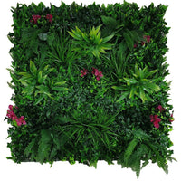 Flowering Lilac Vertical Garden / Green Wall UV Resistant 100cm x 100cm Panel Kings Warehouse