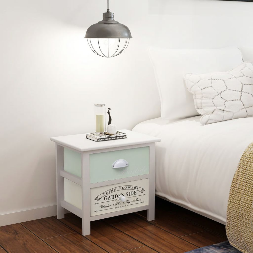 French Bedside Cabinet Wood FALSE Kings Warehouse Default Title