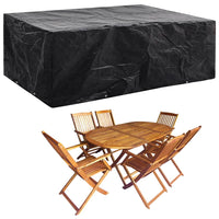 Garden Furniture Cover 8 Eyelets 242x162x100 cm