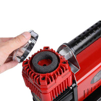 Giantz 12V Portable Air Compressor - Red Kings Warehouse