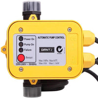 Giantz Automatic Electronic Water Pump Controller - Yellow Kings Warehouse