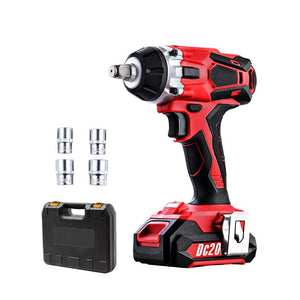 GIANTZ Cordless Impact Wrench 20V Lithium-Ion Battery Rattle Gun Sockets Kings Warehouse