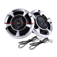 Giantz Set of 2 6.5inch LED Light Car Speakers Audio Kings Warehouse