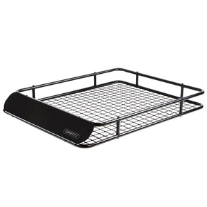 Giantz Universal Roof Rack Basket Car Carrier Steel 123cm Kings Warehouse