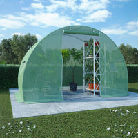 Greenhouse with Steel Foundation 4.5m² 300x150x200 cm Kings Warehouse