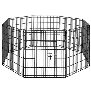 "i.Pet 30"" 8 Panel Pet Dog Playpen Puppy Exercise Cage Enclosure Play Pen Fence Kings Warehouse"