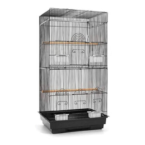 i.Pet Medium Bird Cage with Perch - Black Pet Care Kings Warehouse
