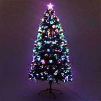Jingle Jollys 1.2M 4FT LED Christmas Tree Multi Colour Kings Warehouse