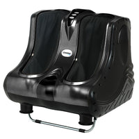 Livemor Foot Massager Ankle Calf Leg Massagers Shiatsu Kneading Rolling Black
