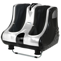 Livemor Foot Massager Ankle Calf Leg Massagers Shiatsu Kneading Rolling Silver