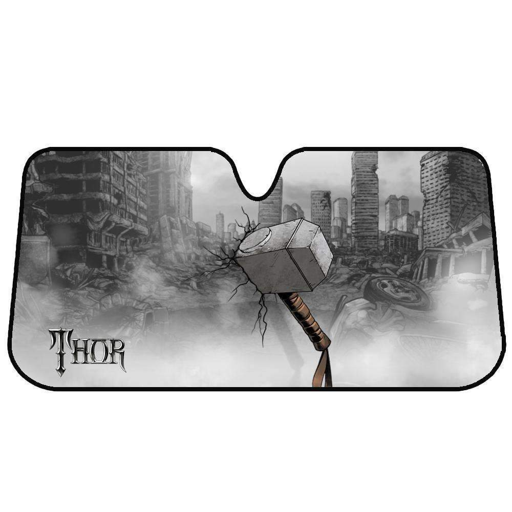 Marvel Avengers Sun Shade [150cm x 70cm] - THOR Kings Warehouse
