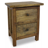 Nightstand Solid Reclaimed Wood 40x30x51 cm FALSE Kings Warehouse Default Title