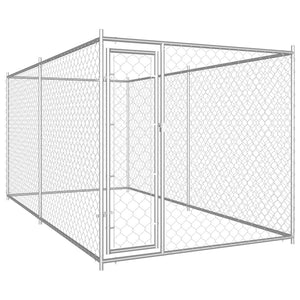 Outdoor Dog Kennel 382x192x185 cm Kings Warehouse