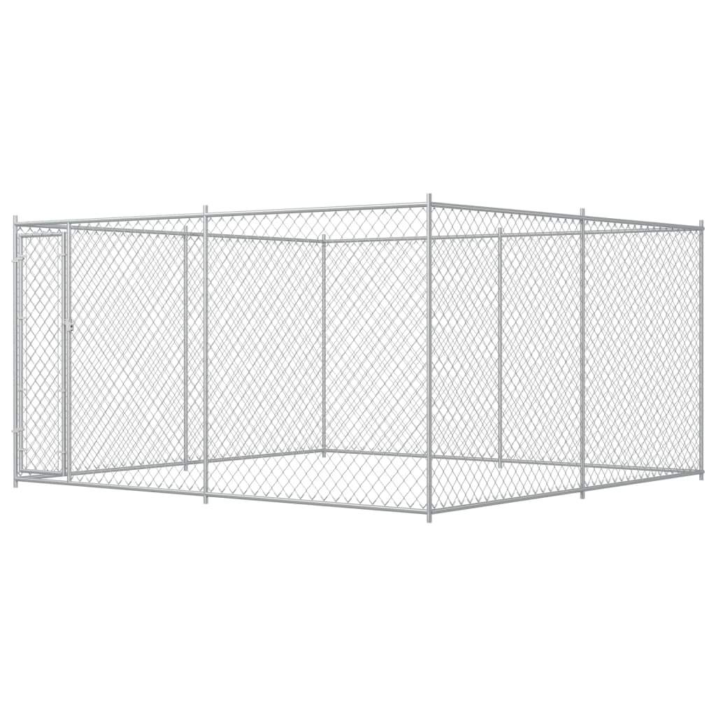 Outdoor Dog Kennel 4x4x2 m Kings Warehouse