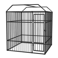 Outdoor Dog Kennel with Roof 2x2x2.3 m Kings Warehouse