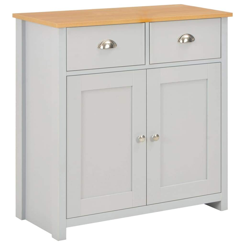 Sideboard Grey 79x35x81 cm Kings Warehouse