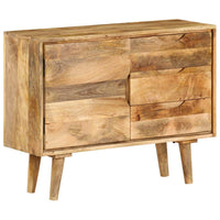 Sideboard Solid Mango Wood 90x40x69 cm Kings Warehouse