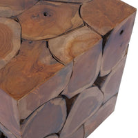 Stool Solid Teak Wood Kings Warehouse