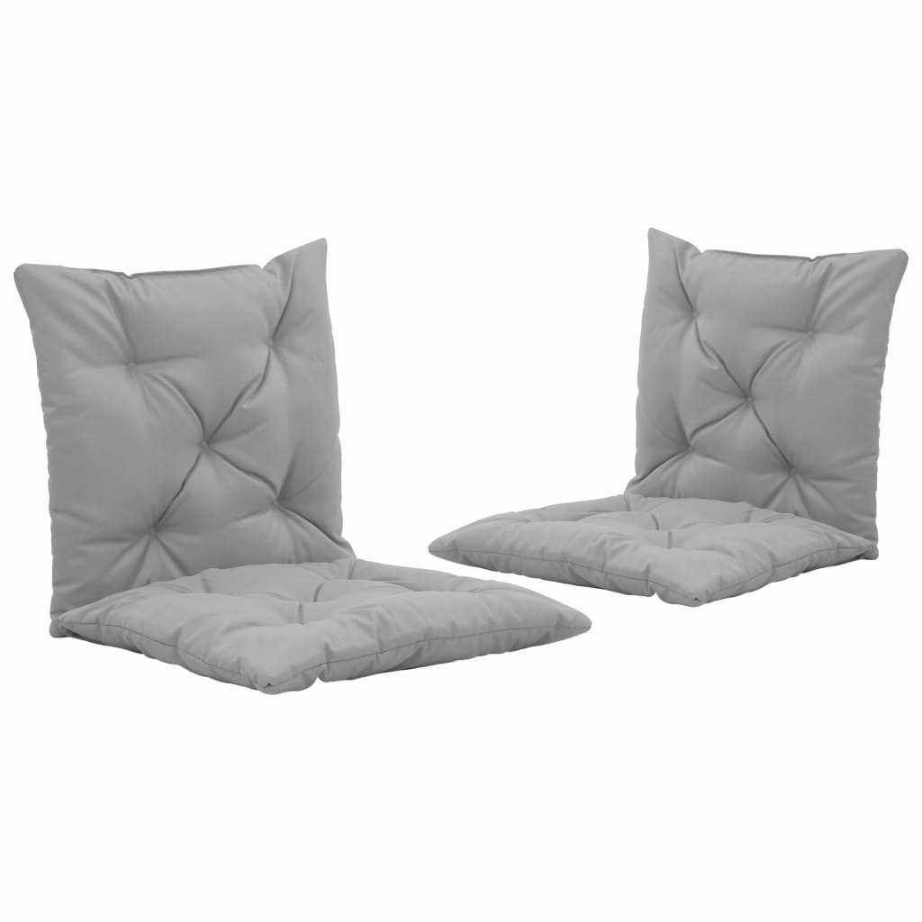 Swing Chair Cushions 2 pcs Grey 50 cm Kings Warehouse
