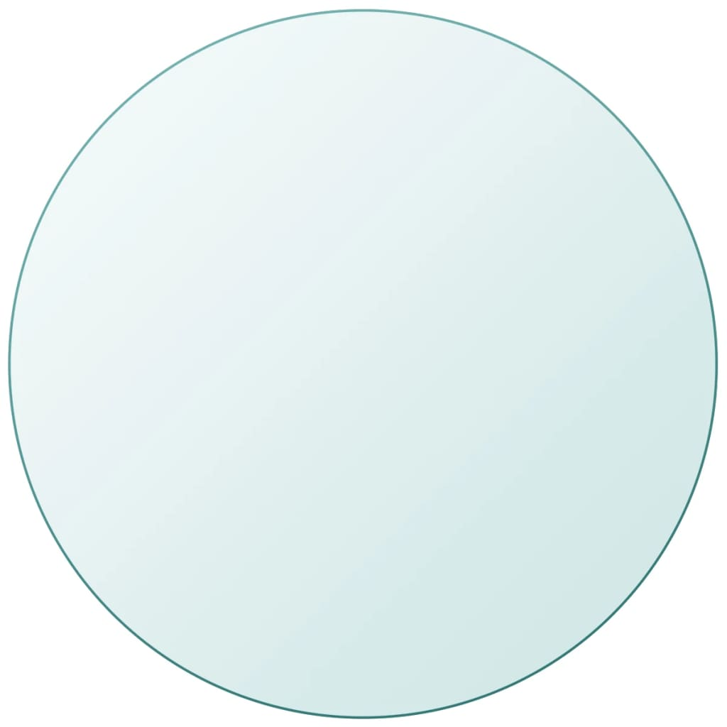 Table Top Tempered Glass Round 700 mm Kings Warehouse