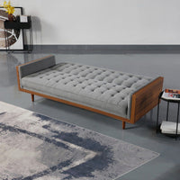 Tulip 3 Seater Sofa Bed Grey Kings Warehouse
