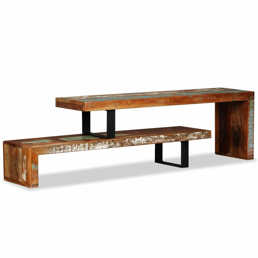TV Stand Solid Reclaimed Wood Kings Warehouse Default Title