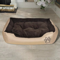 Warm Dog Bed with Padded Cushion M Kings Warehouse