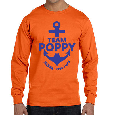 Team Poppy Fundraiser - Long Sleeve Shirt