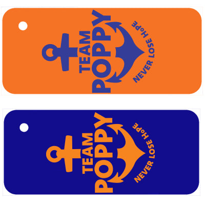 Team Poppy Fundraiser - Keychain
