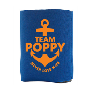 Team Poppy Fundraiser - Can Koozie