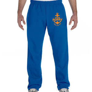 Team Poppy Fundraiser - Open-Bottom Sweatpants