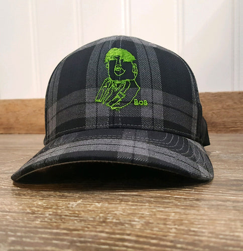 Bob Plaid Flexfit Hat