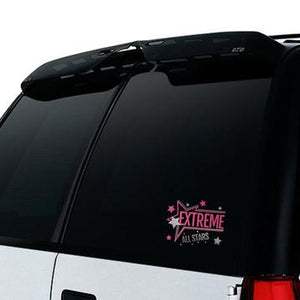 Extreme Cheer - Glitter Window Decal