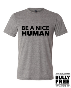 Be a Nice Human - Warren PTO Fundraiser
