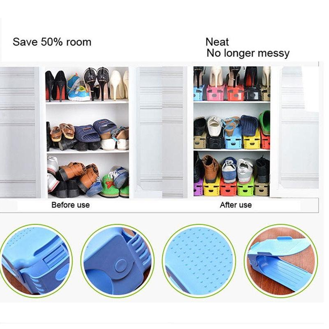 5-Pack Easy Shoes Organizers