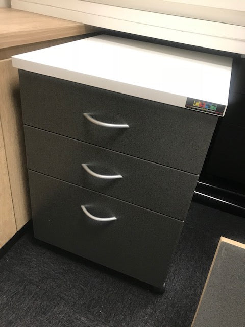 3 x Mobile Pedestal Drawers - NEWCASTLE SYDNEY
