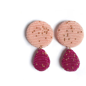 YAROMA EARRINGS Pink/Fuchsia