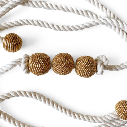 MARA - NATURAL COTTON CORD BELT