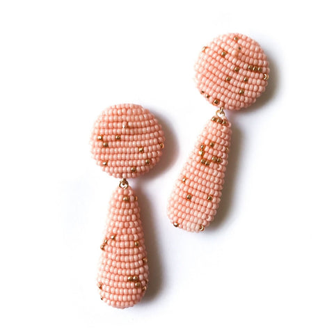 YARA EARRINGS PINK