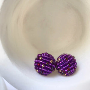 MORE EARRINGS Ultraviolet