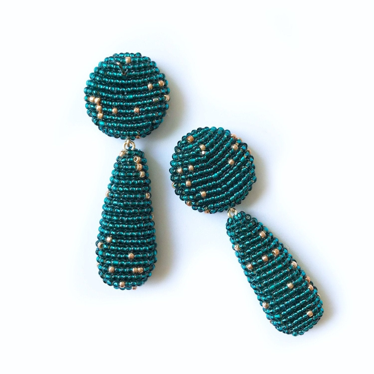 YARA EARRINGS Teal