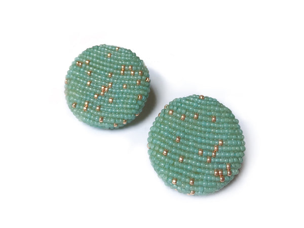 POLKAMOR EARRINGS Mint