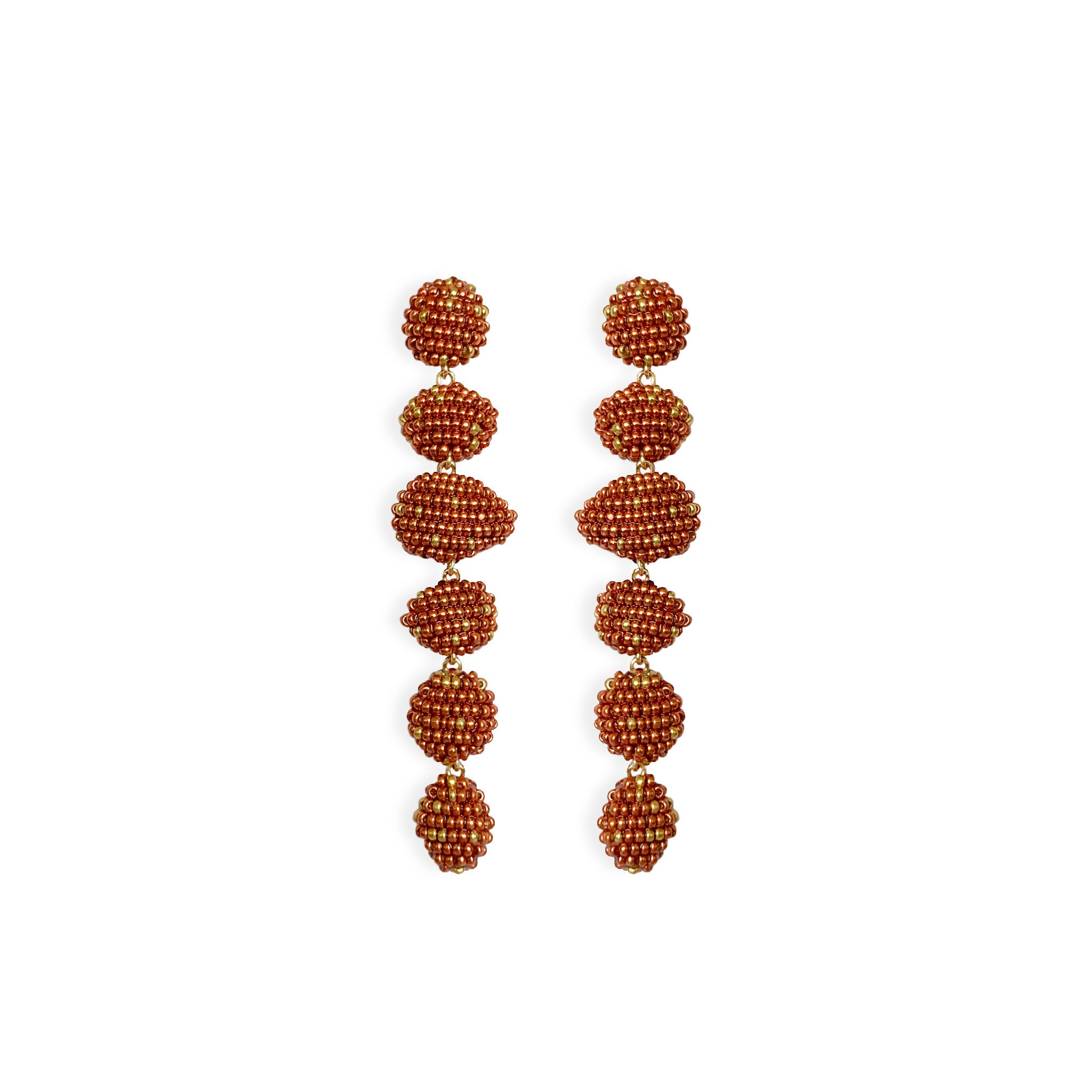 VIM earrings copper susana vega jewelry