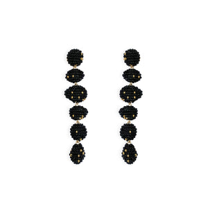 VIM earringa black susana vega jewelry
