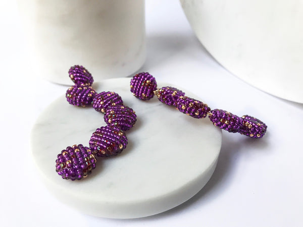 YOHO EARRINGS ULTRAVIOLET