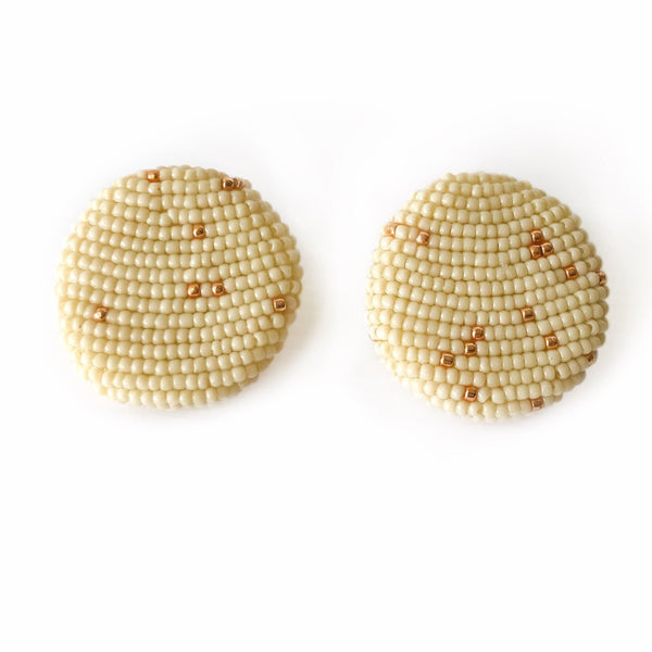 POLKAMOR EARRINGS Beige