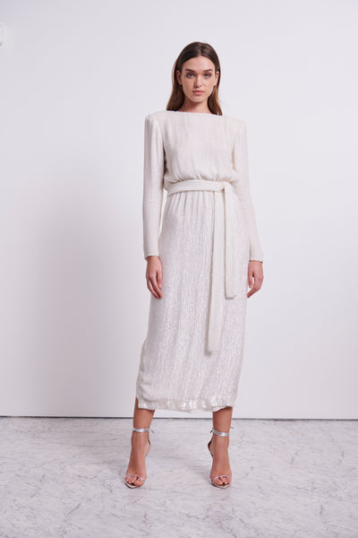 MALERY GOWN - IVORY